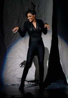 Patin Miller performing on the Tony Awards