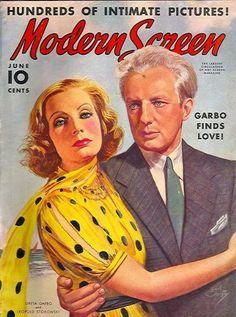 Greta Garbo and Leopold Stokowski