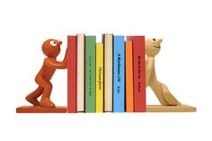 Novelty Morph & Chas Bookends Keep Books Tidy With Retro Book Holders Cadeau Design, Promotional Clothing, Book Holders, Cool Inventions, Retro Home, Novelty Gifts, Corporate Gifts, Morphe, Cool Gifts
