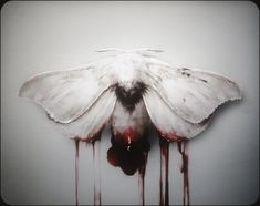 """melodiezmelz: """"Unholy Birth By Justin Cherry """" Crane, Blood Art, Red Aesthetic, Beauty Photography, Dark Art, Character Inspiration, Horror, Creatures, Art Prints"""