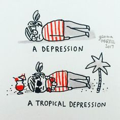 Depression Explained In Accurate Illustrations