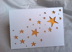 Floating Stars Card by repeteLove on Etsy, $4.00