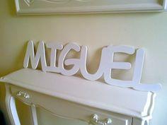Nombre de Miguel para pared