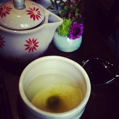 Cup of happiness with tea