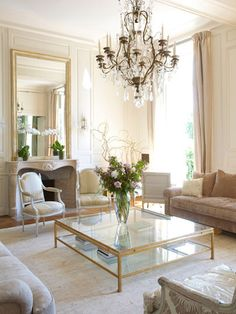 Jacques Grange apartment in the Place des Vosges in Paris.