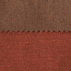 ANICHINI Fabrics | Janus Chestnut 9 Residential Fabric - a brown double faced linen fabric