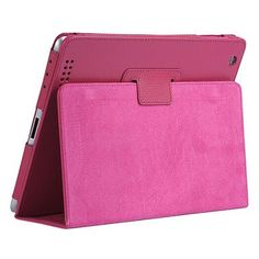 Stylish iPad Case iPad 2/3/4 Drop Resistance Protective Cover Support Rose