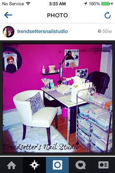 A Cleaner Way to Display Nail Color | Salon Design on a Dime ...