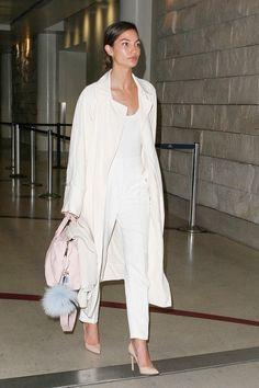 Lily Aldridge / Vote! Which Celebrity Had the Best Weekend Street Style?