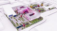 Site Render Museum Architecture, Science, Projects, Log Projects, Blue Prints
