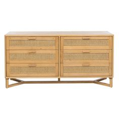 Shop the RAFFLES 6 Drawer Dresser in Natural & Rattan. All freedom furniture comes with a 2 year warranty. Bedroom Furniture For Sale, Cane Furniture, Rattan Furniture, Furniture Nyc, Furniture Storage, Furniture Online, Cheap Furniture, Kitchen Furniture, Armoire