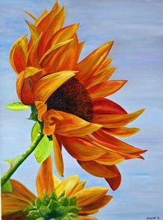 Sunflower Paintings - Bing Images