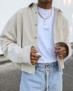 mentions J'aime, 79 commentaires - Streetwear Retro Outfits, Mode Outfits, Vintage Outfits, Casual Outfits, Fashion Outfits, Fashion Styles, Men's Summer Outfits, Simple Outfits, Trendy Outfits For Guys