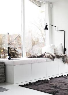 Window Seat - Maak een raambank in huis!