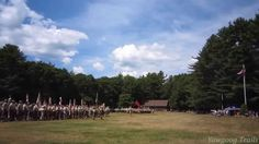 Video of the camp reports at the Sunday Dress Parade at Camp #Yawgoog on August 10, 2014.  At Tim O'Neil Field on the Orange Trail.  Recorded by David R. Brierley.