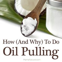 How To: First thing in the morning on an empty stomach is the best time to do oil pulling, but if another time works better for you, that's fine.  Just make sure you have an empty stomach and are performing this before a meal. Brush your teeth with water. You want the oil to attack your ailments, not left over food particles. Take about 1 tablespoon of oil in the mouth, and swish it through the teeth gently, not vigorously, in a comfortable way, for 10-15 minutes.