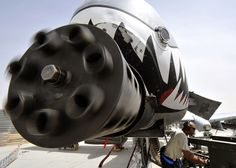 A-10 Thunderbolt's Gatling Cannon... Don't get too close!!