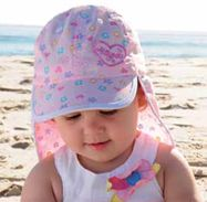The hat is pink with a heart, flower & butterfly patter in the visor, front panel & back flap. There is an elasticised towelling band that ensures comfort & fit for most babies. Baby Girl Hats, Girl With Hat, Baby Candy, Heart Flower, Beach Girls, Sun Hats, Quick Dry, Baseball Hats, Butterfly