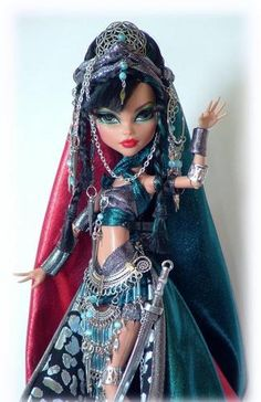 Custom Monster High Egyptian Warrior Princess by Cindy