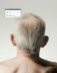 Advertising campaign by Cossette for the Alzheimer society of Montreal