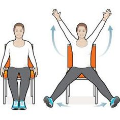 8 Exercise Moves You Can Do in Your Chair – part of #AmericaGetsCooking to Stop Diabetes for American #DiabetesMonth!: