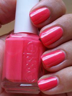 Pink Nail color