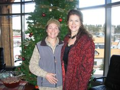 Christmas Possibili-Tea I (f) - Caterer Patti Magliato & Author Mara Purl