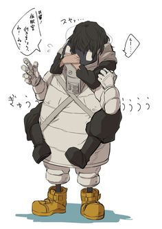 Aizawa Shouta | VK (I have no idea what they are saying but this picture is funny)