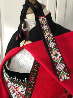 Made by Inger Johanne Wilde Norwegian Clothing, Lolita Cosplay, Cosplay Ideas, Folklore, Norway, Vikings, Scandinavian, Gym Bag, Ethnic
