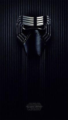 The Force Awakens - Kylo Ren Mask iPhone 6 / 6 Plus wallpaper