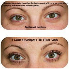 9c833720c8b 35 Best 3D Fiber Lash Before/After's and Younique Products images in ...