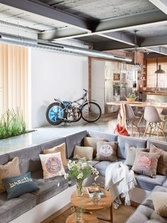 http://sandavy.com/magnificent-stylish-wooden-home-swing-your-awareness-design/handsome-decoartion-room-dining-suite-design-ideas-converstaion-lounge-design-white-and-wooden-accent-decor-motorcycle-decoration-white-wall-brown-curtain-kitchen-and-dining-room-sofa-wooden-floor-whi/