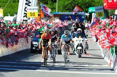 8ª etapa Tour de Suisse: Mikel Nieve, 2º en la etapa y 5º en la general
