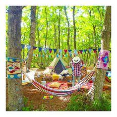 いつもおしゃれでいたい!シティーガールにすすめる女子的キャンプ  -  Locari(ロカリ)