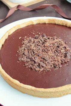 Tarte Chocolat au Lait & Fruit de la Passion #5