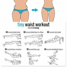 Tiny waist workout