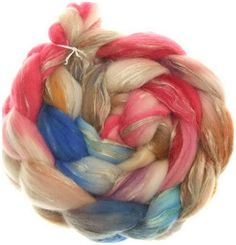 Merino rustico No. 104 handyed combed top roving for spinning #17013 von…