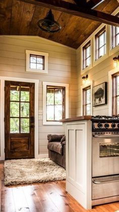 Tiny House Movement and Why it's so Popular - Rustic Design Tiny House Cabin, Tiny House Living, Tiny House Plans, Tiny House On Wheels, Shed Cabin, Living Room, Tiny House Movement, Small Room Design, Tiny House Design