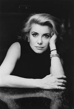 Alice Springs, Catherine Deneuve, Paris, 1986