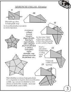 Origami Octagonal Box Diagram
