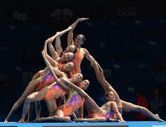 BCN 2013 FINA Wolrd Championships Synchronized Swimming Team technical ITA