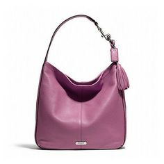 Coach Large Leather Tote Hobo Bag $219