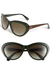 Diane von Furstenberg 'Alana' Cat's Eye Sunglasses $150.00