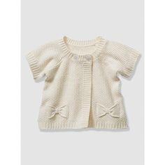 Cardigan manches courtes bébé fille tricot fantaisie VERTBAUDET