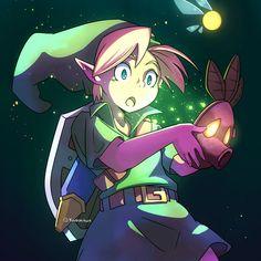 Majora's mask legend of Zelda link skull kid deku