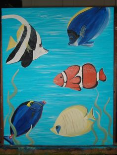 Stacys Artistry - Tropical Fish Sample SOLD!