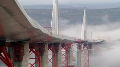 The Millau Viaduct (Millau, France)- cant get enough of this amazing bridge. Consistently listed as one of the great engineering achievements of all time. The tallest bridge in the world.