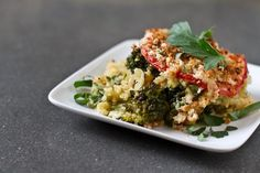 Casserole Recipe : quinoa broccolicasserole