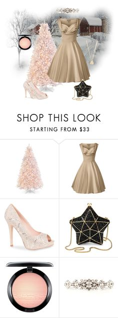 """""""Untitled #489"""" by dollparts83 ❤ liked on Polyvore featuring Lauren Lorraine, Aspinal of London, MAC Cosmetics and Dolce&Gabbana"""
