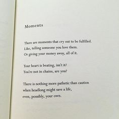Mary Oliver does it again. More